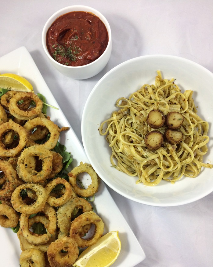 Vegan Fried Calamari