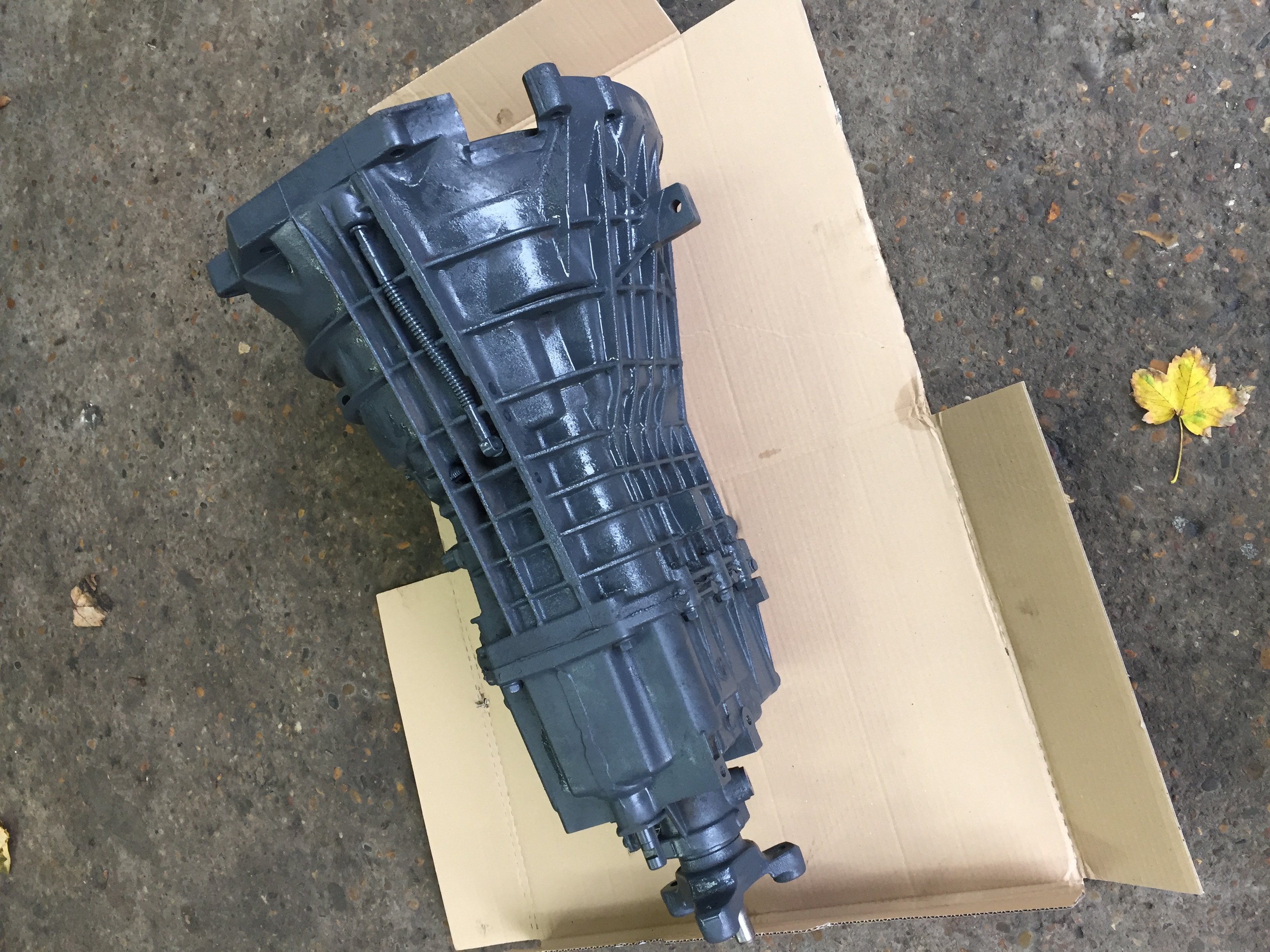 ford trasit gearbox