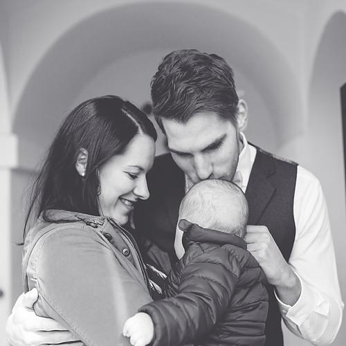 Taufe von Max