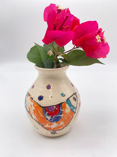 """Jarra para flores """" Los Pajaritos """""""