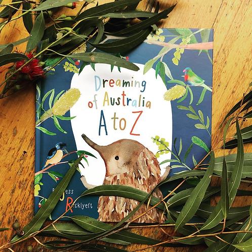 Dreaming of Australia A-Z BOOK
