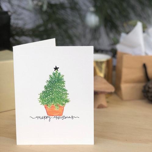 Christmas Fir Tree CARD