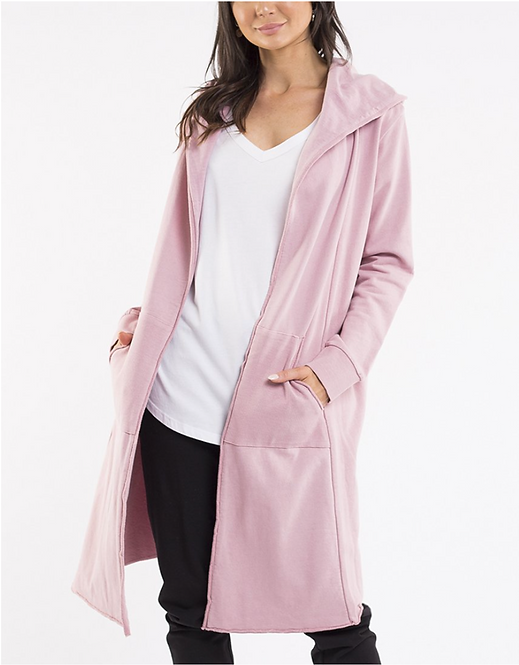 FOXWOOD - Naomi Hooded Cardigan Pink