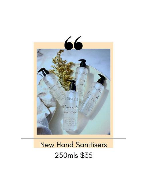 Hand Sanitiser HERACODE + CO 60ml & 250ml