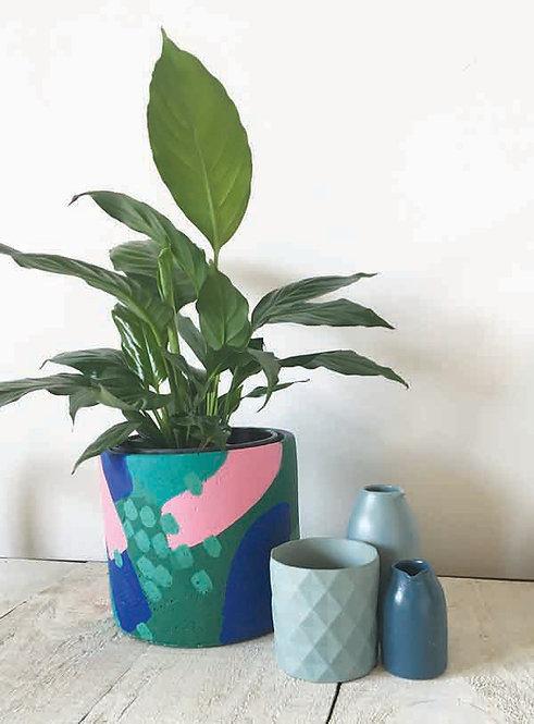 Joy Bursts Art Planter