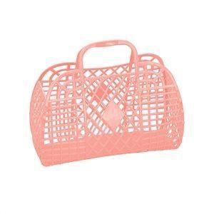 Retro Basket Small Peach - Sun Jellies