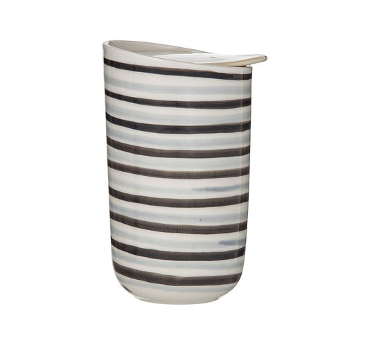 Roma Striped Double Wall Travel Cup