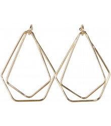 Gold Geo Earrings