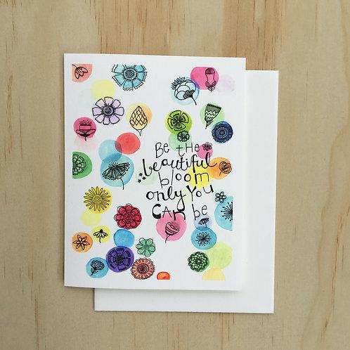 Beautiful Bloom CARD