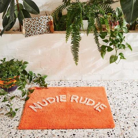 Tula Nudie Bath Mat Tangerine - SAGE X CLARE
