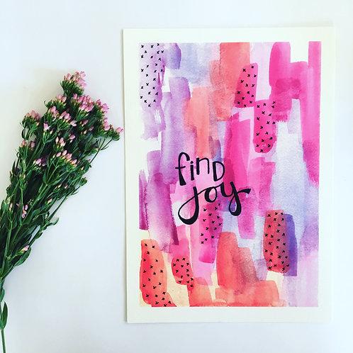 Find Joy PRINT