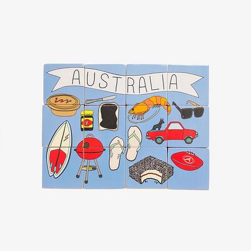 Australian Stacking Blocks - Iconic Toy