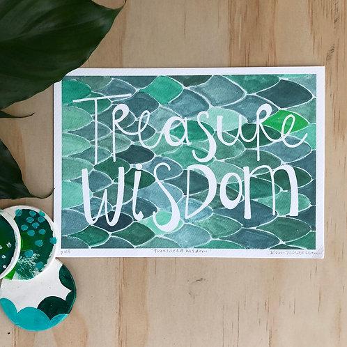 Treasure Wisdom PRINT