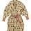 Thumbnail: Bisous Jacquard Robe / Cardigan - SAGE AND CLARE