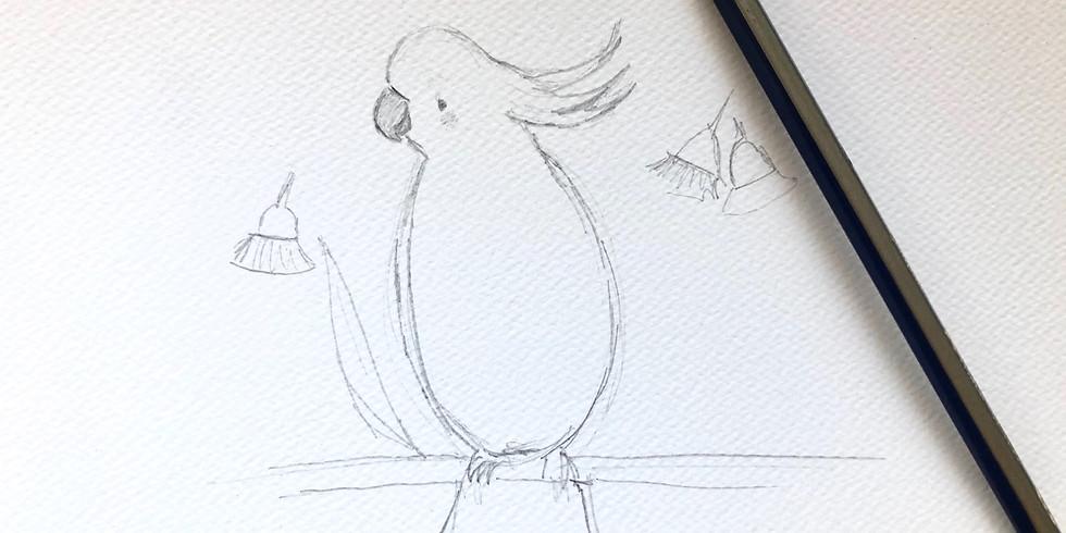 KIDS 8YRS+ Australian Animal Illustration
