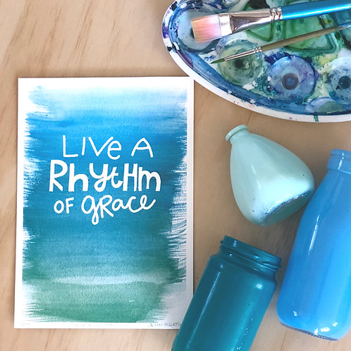 Rhythm of Grace PRINT