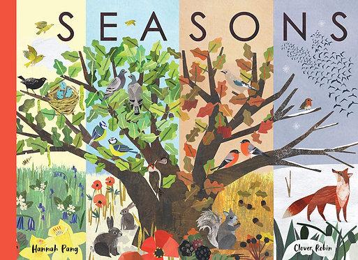 Seasons by Hannah Pang, Clover Robin BOOK