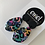 Thumbnail: Colourful Dangle Earrings - EMEL