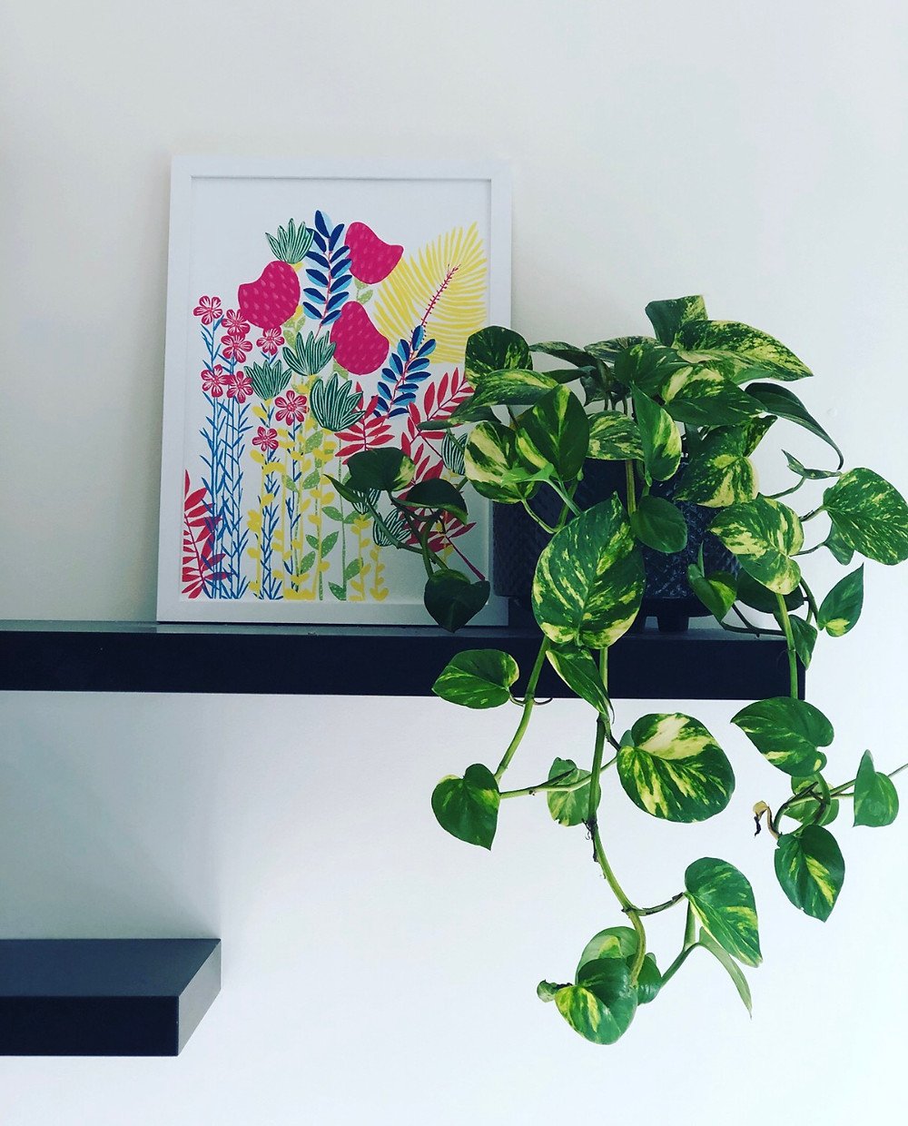 Imagine Flower Jungle Print