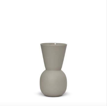 Cloud Bell Vase Dove Grey (S) - Marmoset Found