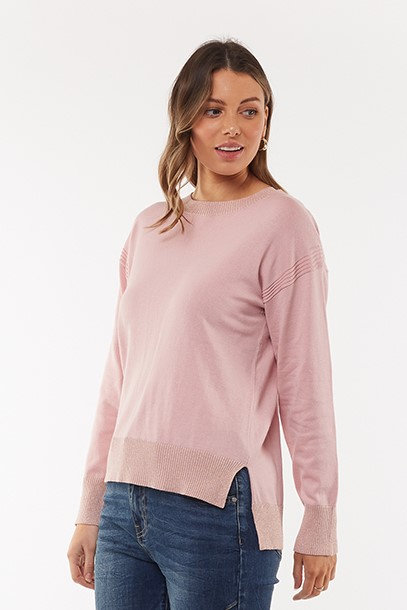 FOXWOOD - Kensington  Knit Dawn Pink