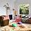 Thumbnail: Rylie Round Cushion - INDIGO - SAGE AND CLARE