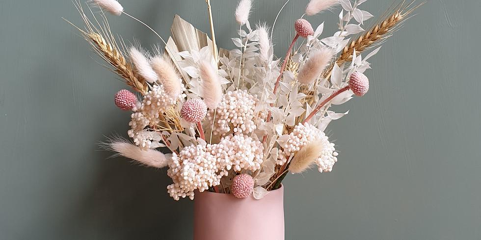 Everlasting Dried Flower Arrangement