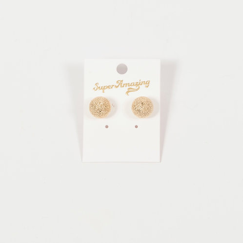 Stardust Ball Stud Earrings