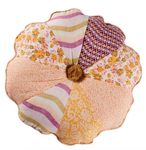 Henrietta Patch Cushion - SAGE AND CLARE
