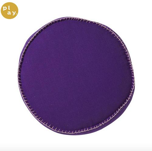 Rylie Round Cushion - INDIGO - SAGE AND CLARE