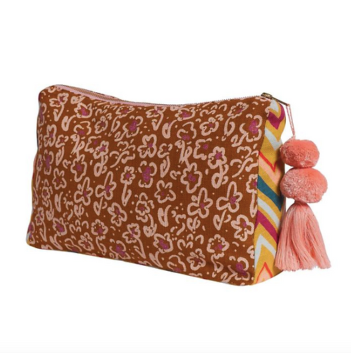 Eva Cosmetic Bag - SAGE AND CLARE