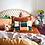 Thumbnail: Zelie Soutache Cushion - SAGE AND CLARE