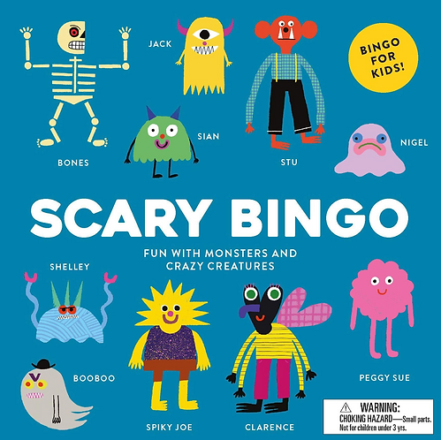 Scary Bingo GAME