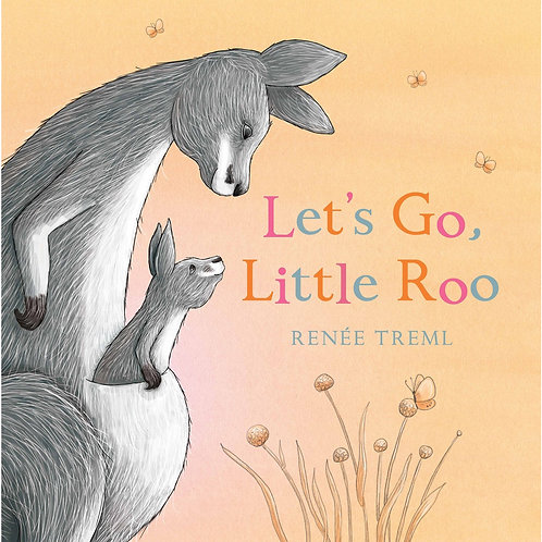 Let's Go, Little Roo BOOK