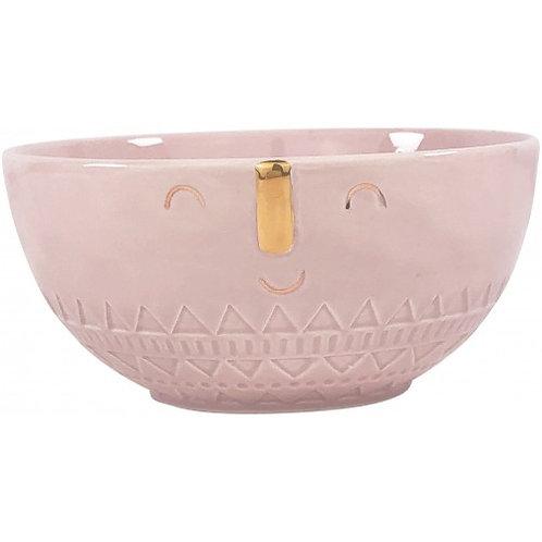 Pinky Golden Face Bowl
