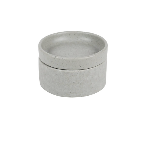 Condiment Bowl and Plate 2Pk - Grey (Stack, Serve and Store) ROBERT GORDON