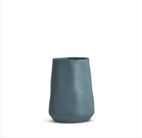 Cloud Tulip Vase Steel (M) - Marmoset Found