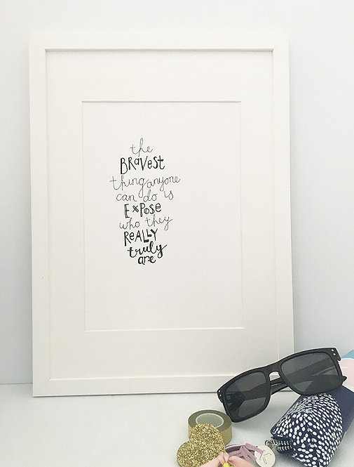 The Bravest Thing PRINT