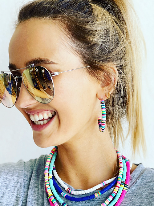 Mosk Melbourne - Hula Earrings Multi