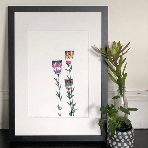 Imagine Flower Cups PRINT