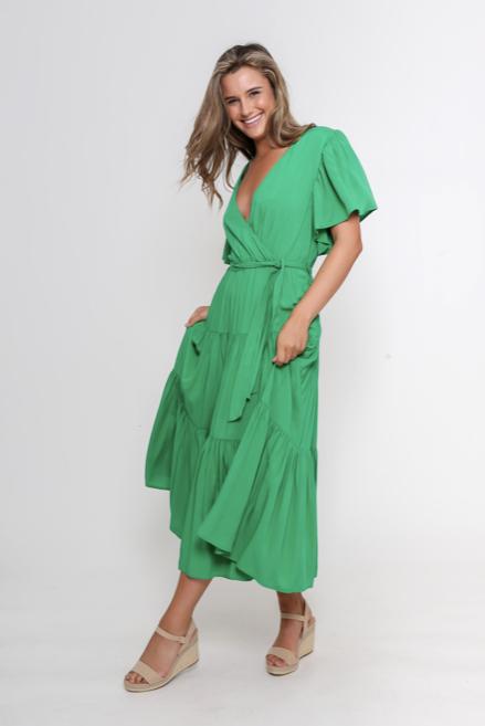 LEONI - Dayna Dress - Green