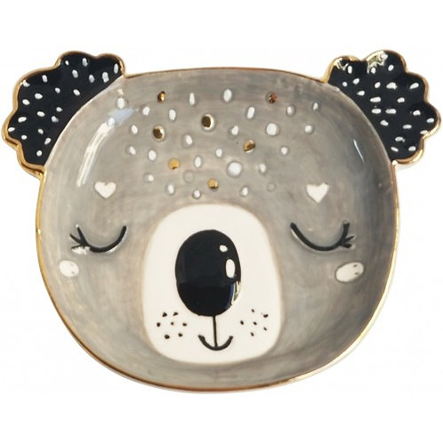 Koala Trinket Dish Monochrome Sm - URBAN PRODUCTS
