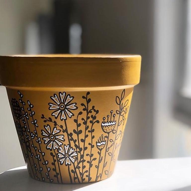 Pot Painting Workshop