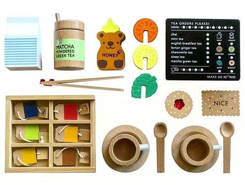 MAKE ME ICONIC  - Wooden Tea Set Extension Kit