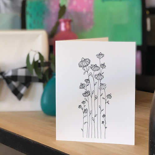 Sweet Wildflower CARD