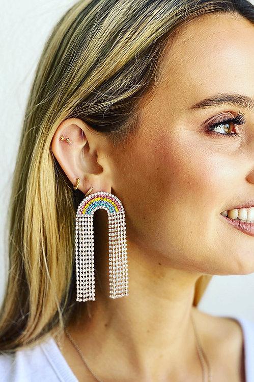 Shimmering Rainbow Earrings - MOSK Melbourne
