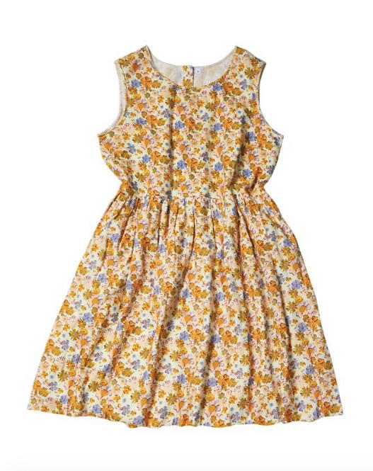 Freya Wildflower Dress - SAGE AND CLARE