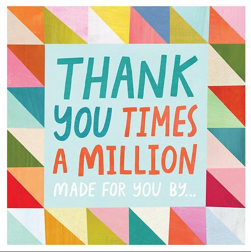 Thank you times a Million BOOK