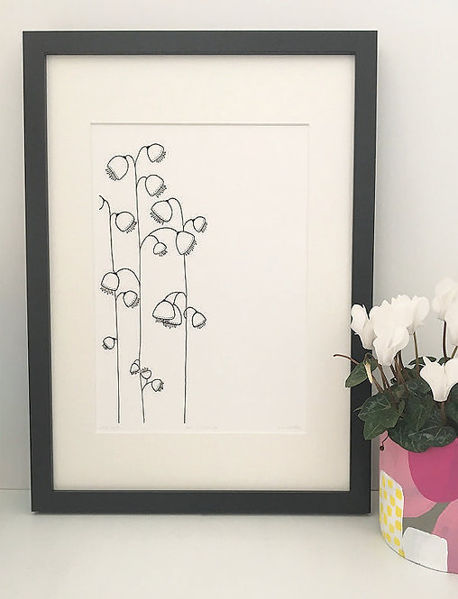 Bell of the Wildflower Ball PRINT