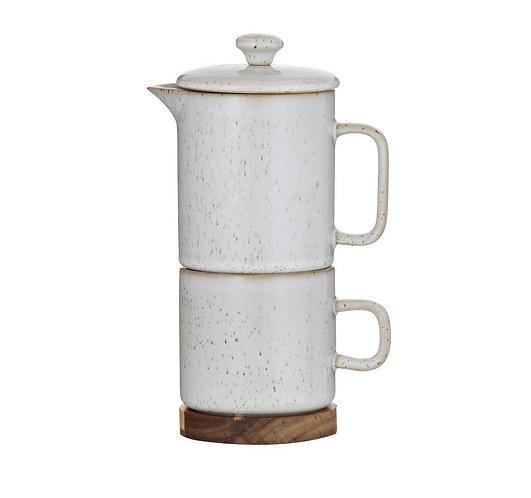SOREN Tea/Coffee for One with Trivet